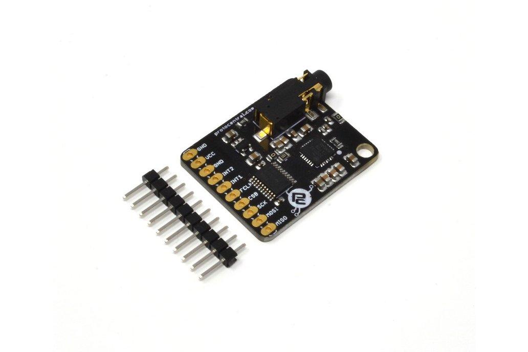 MAX30003 Single-lead ECG Breakout Board - v2 1