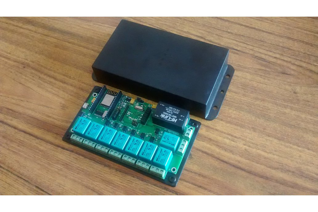 BA012:Wifi Eight Relay Board 1