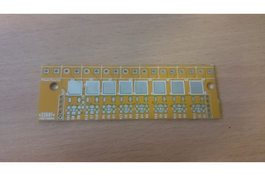 74hc595 driver and controler board