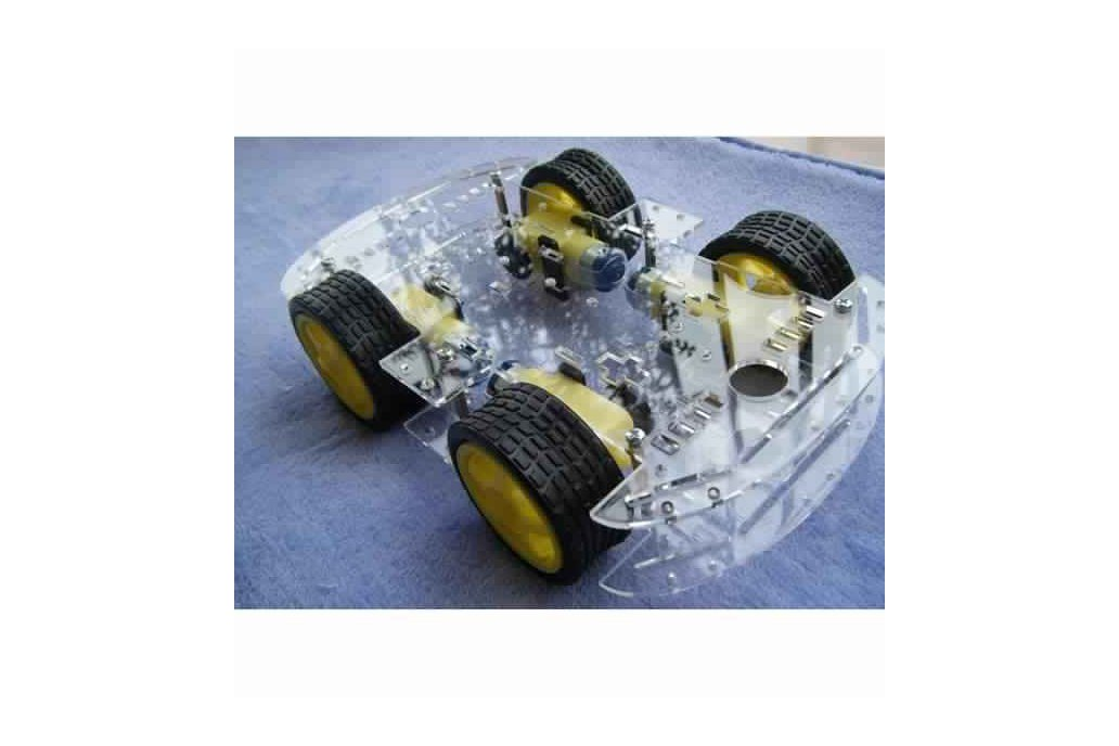 4WD Smart Robot Car Chassis Kit With Strong Magnet 1