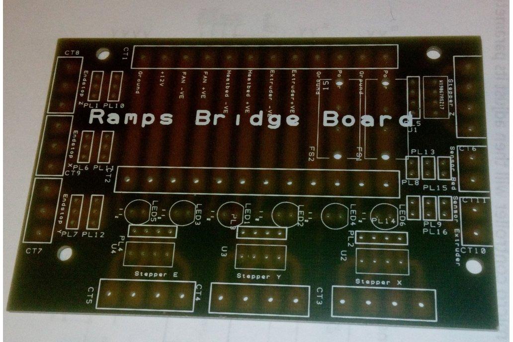 Ramps 3d Printer Controller Bridge Board 2