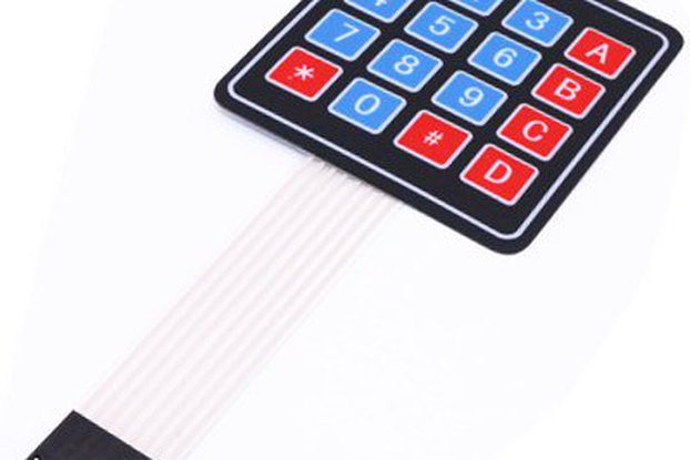 4*4 Matrix Array 16 Key Membrane Switch Keypad