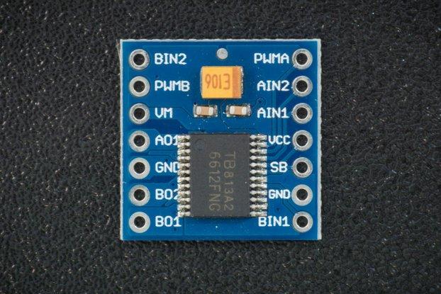 TB6612FNG H-bridge driver