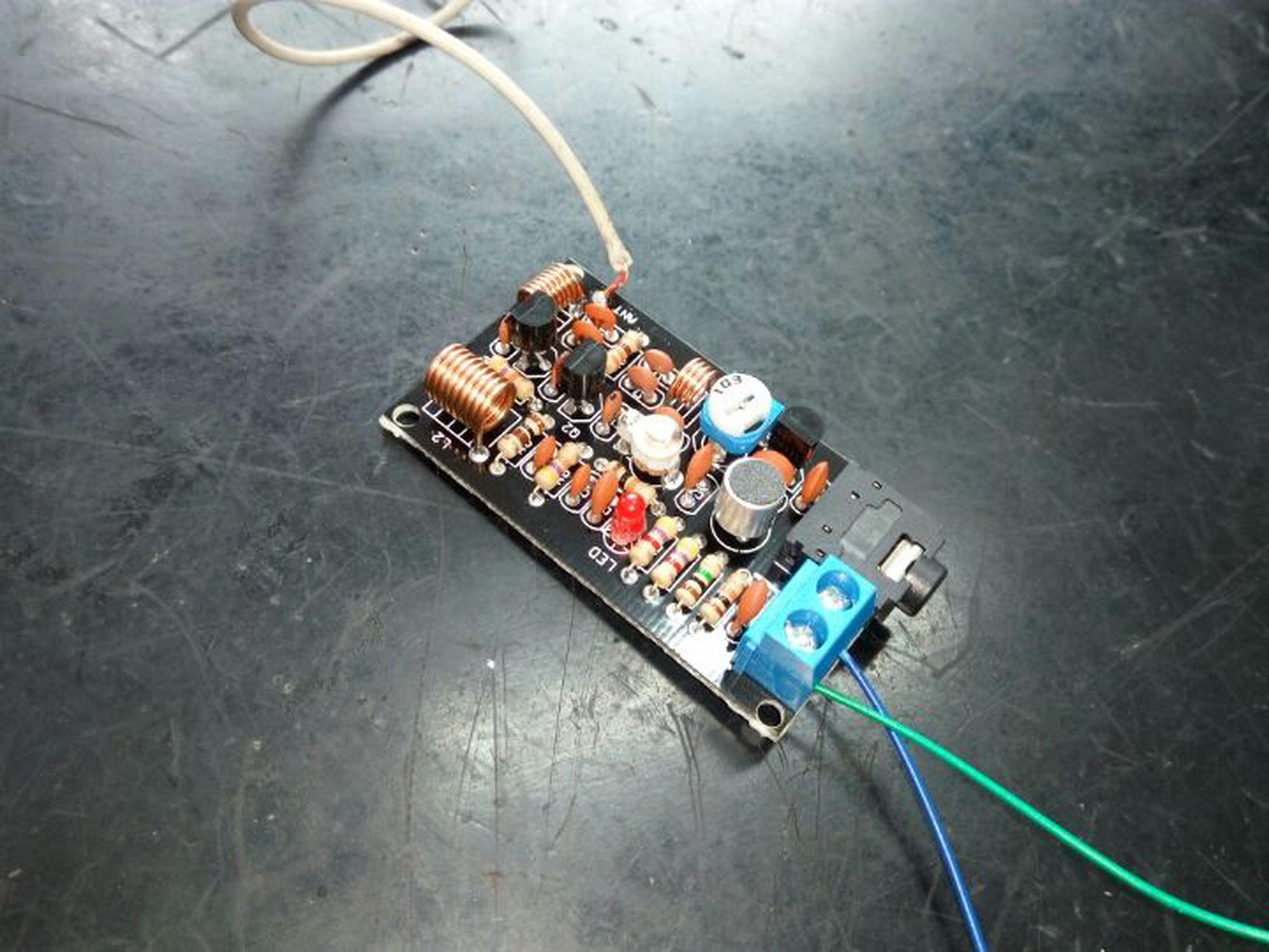 Fm Radio Transmitter Diy11840 From Icstation On Tindie 9v Wireless Microphone Circuit Wiring Diagrams 4