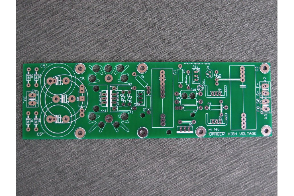 PCB Tube Anode Adjustable PSU Regulator Salas V2 2