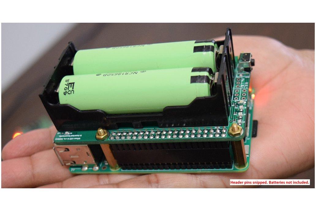 Pi-UpTime UPS - UPS for a Raspberry Pi 4