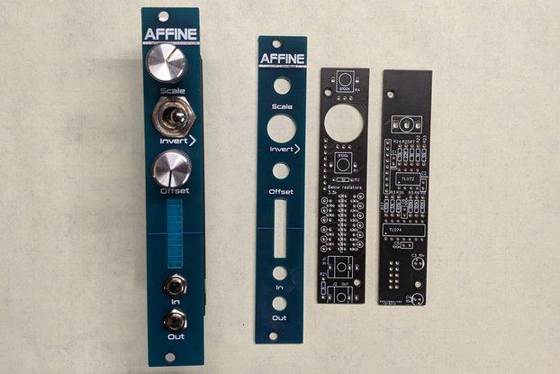 Affine - Scale/Invert/Offset 4HP eurorack kit