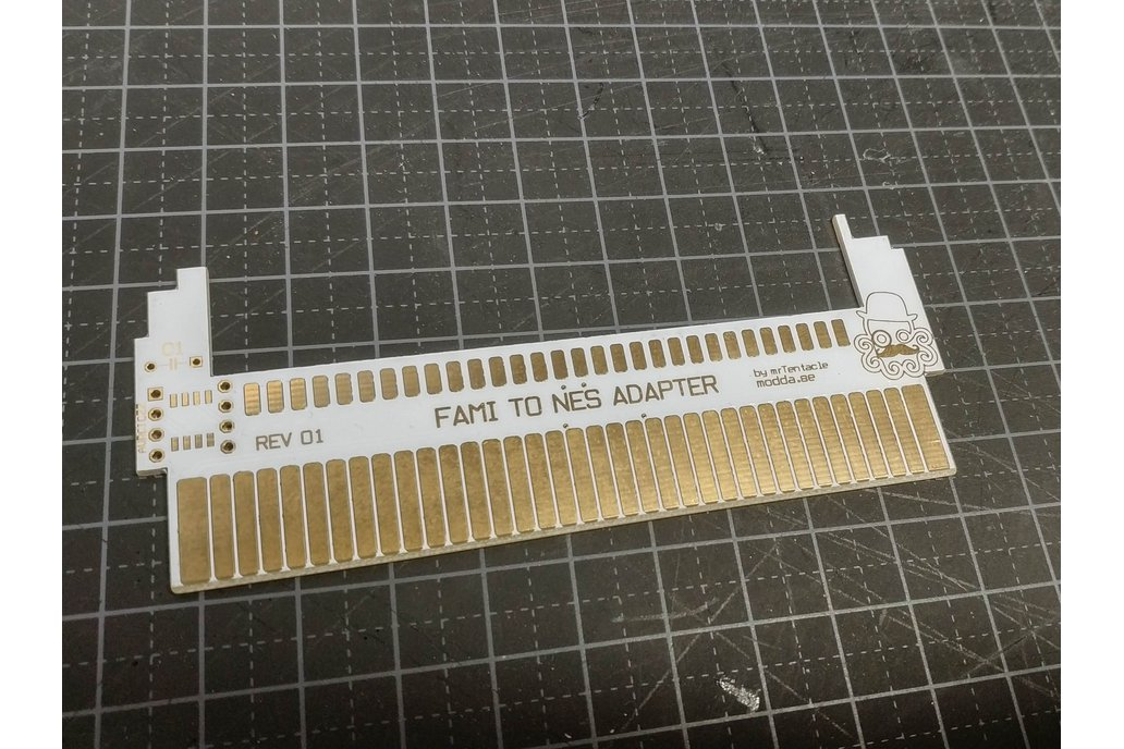 60 to 72 Pin Adapter for Famicom to NES 1