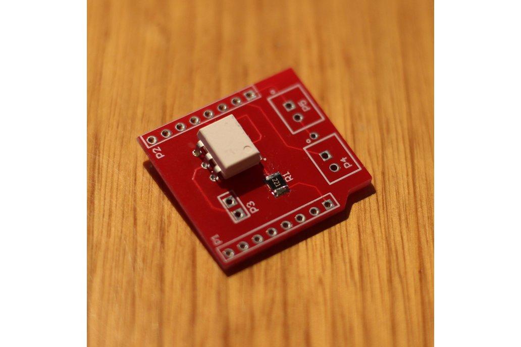 Camera shutter shield for Wemos D1 Mini ESP8266 1