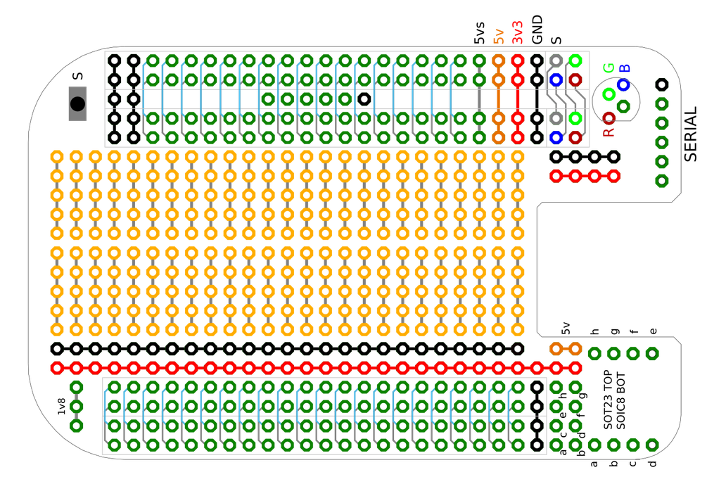 Beaglebone Black Breadboard Cape 5