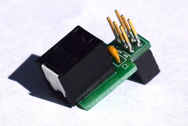 SPDIF TOSLink Adapter Hat for Quartz64