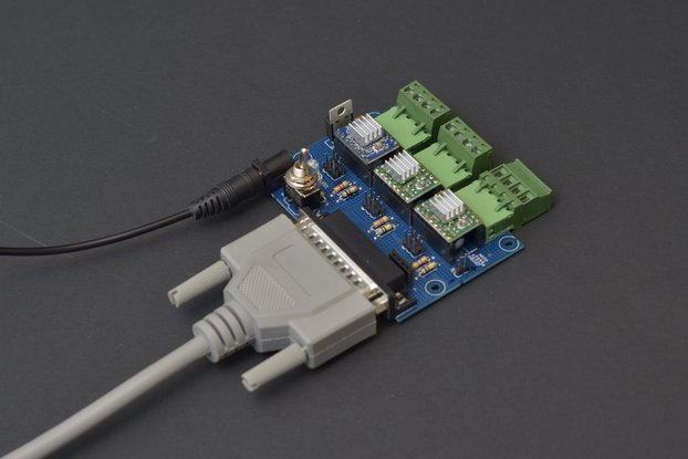 CNC Stepper controller board for Pololu drivers