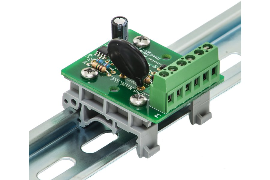 AC anemometer amplifier board