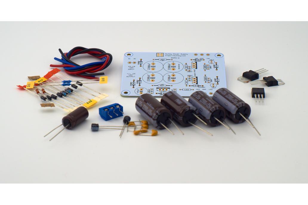 Muffsy Hifi Dual Power Supply V4 -Kit 2