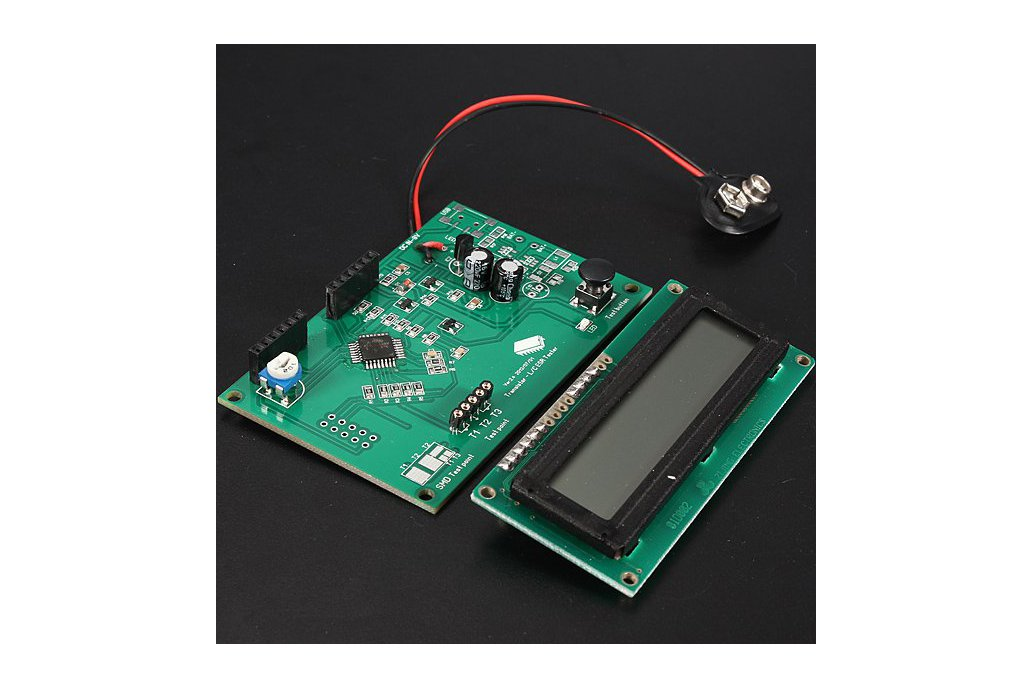 Transistor Tester Capacitor ESR Inductance Resistor Meter 4