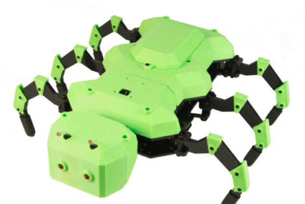 3D Printed Ant Shell for RobotGeek Antsy Hexapod