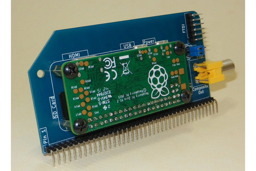 Raspberry Pi Zero Serial Terminal for RC2014 1