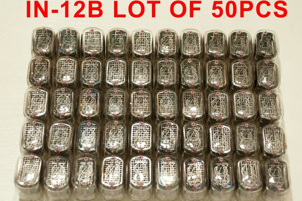 50 pcs Used and tested Nixie Tubes IN-12B