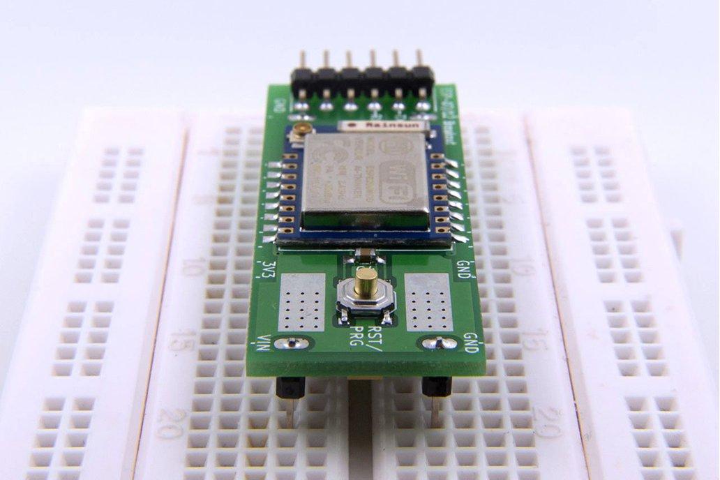ESP8266 (ESP-07/12) Full I/O Breadboard Adapter 2