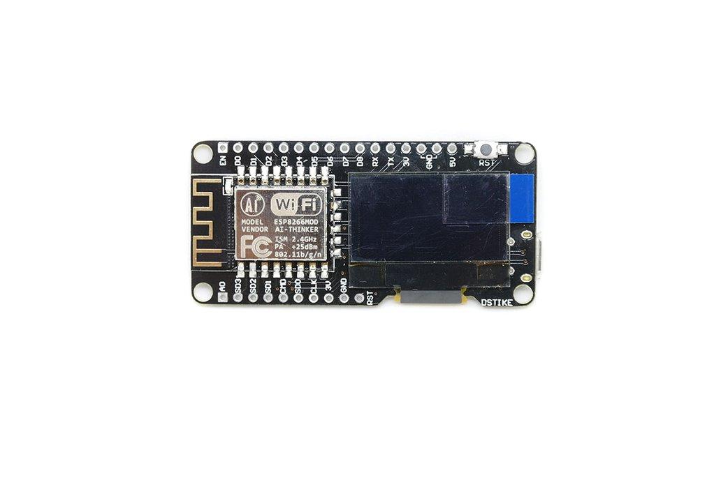 D-duino V3(Arduino&NodeMCU&ESP8266&0.96OLED) 1