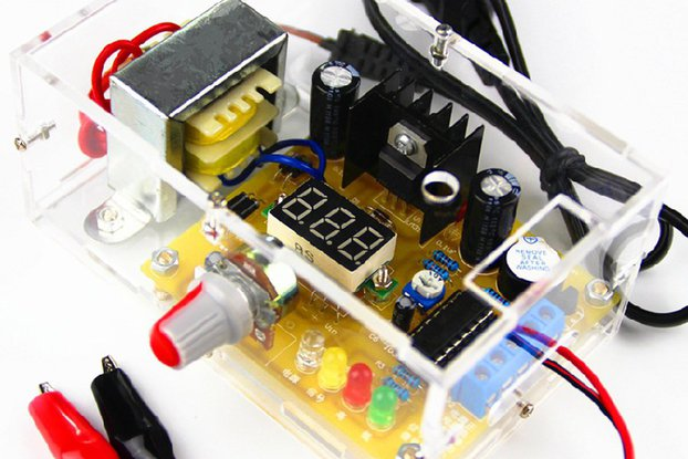 LM317 Adjustable Regulated Voltage Electronic kits
