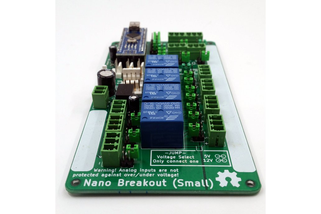 Small Arduino Nano Breakout 4