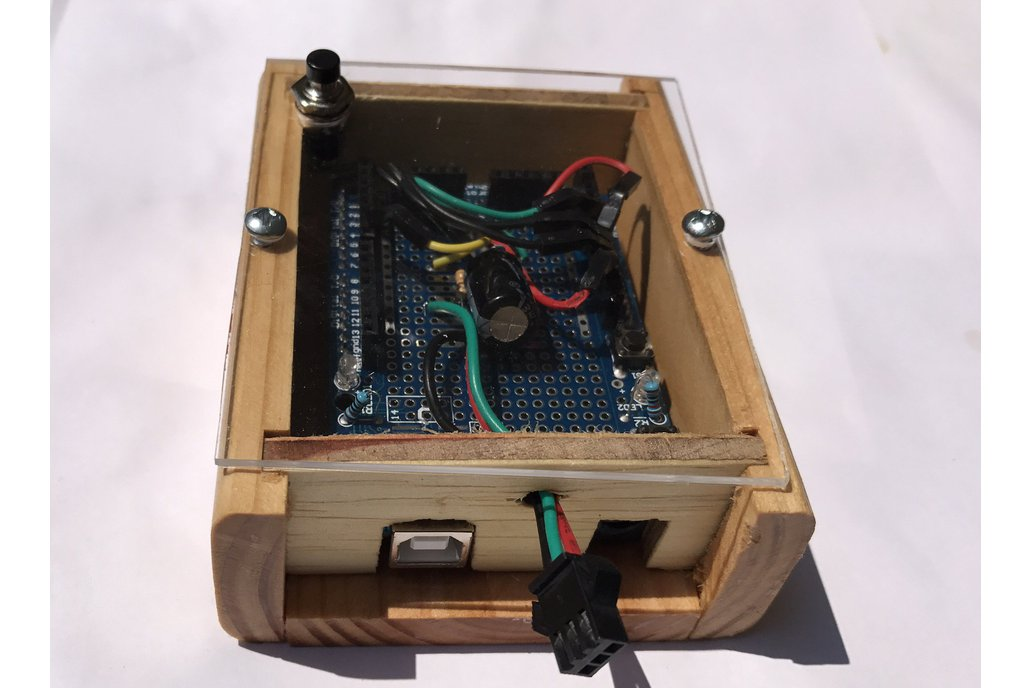 Finished Electronic Project Box (Arduino) 1