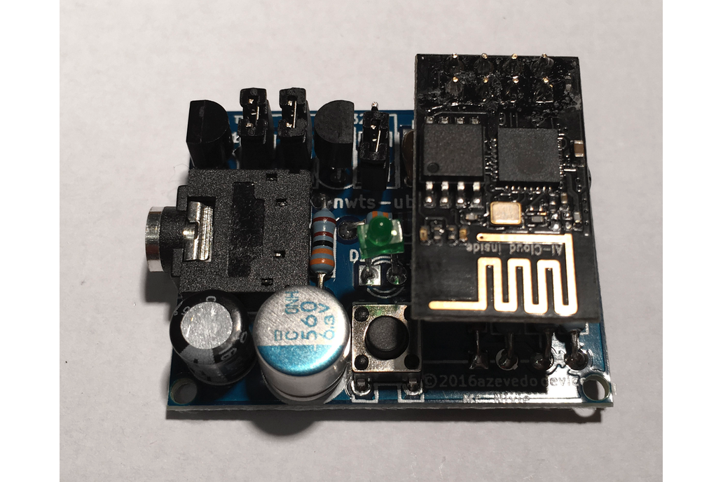 nwts - NTP sync over Wi-Fi for Nixie clocks kit 2