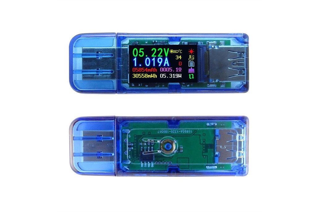 AT34 USB 3.0 power bank USB Tester 1