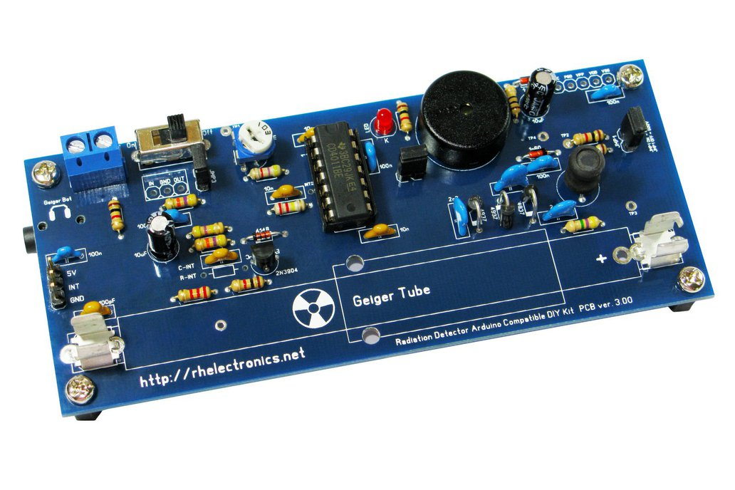 Geiger Counter Radiation Detector DIY Kit