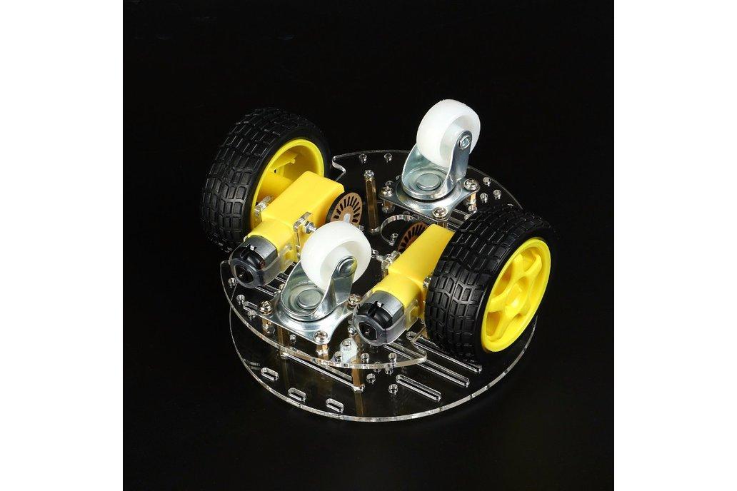Round 2 Wheel-Drive Robot Car Kit 3