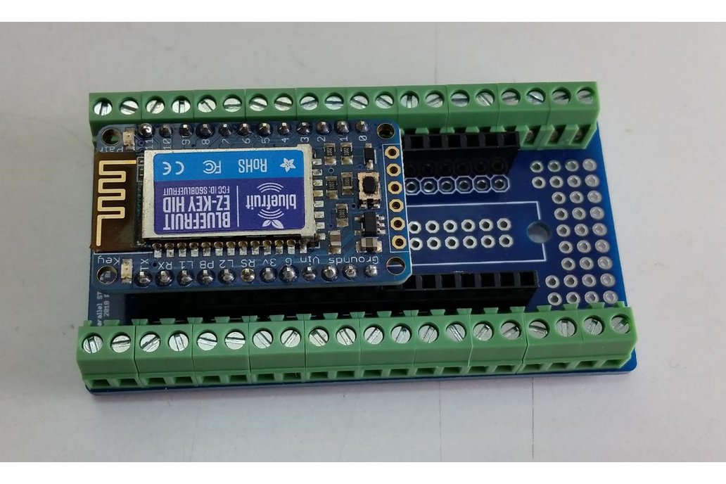 Screw Terminal Breakout PCB for Parallel Headers 6