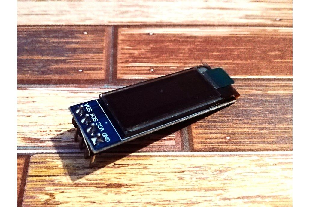 OLED Blue 0.91inch I2C 1