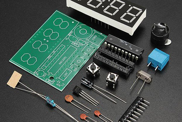Electronic Clock DIY Kits
