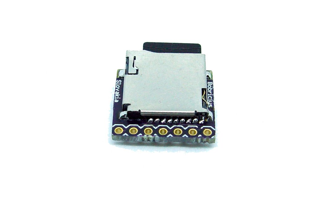 Micro SD Card .WAV Player AVR AtTiny85 2