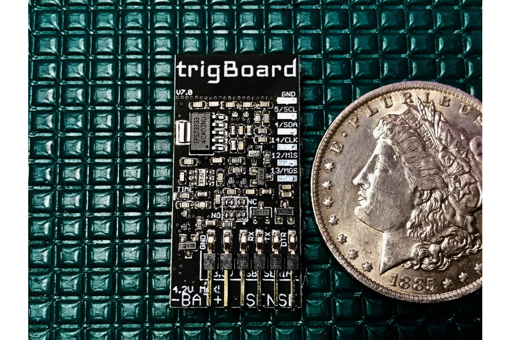trigBoard - Ultra Low Power ESP8266 IoT Platform 1