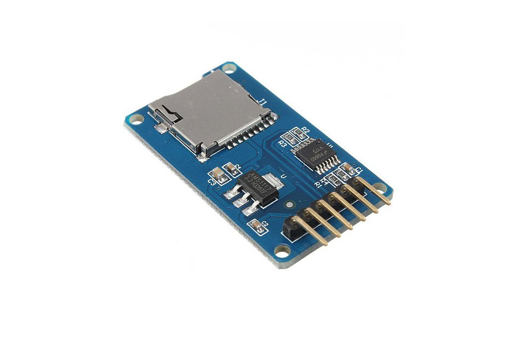 Micro SD card reader module for Arduino 1