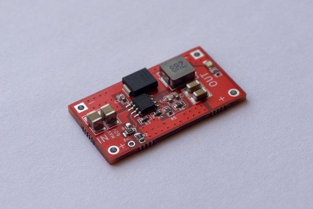 Step-down 8-60V > 5V 3.5A Converter /w MCU control