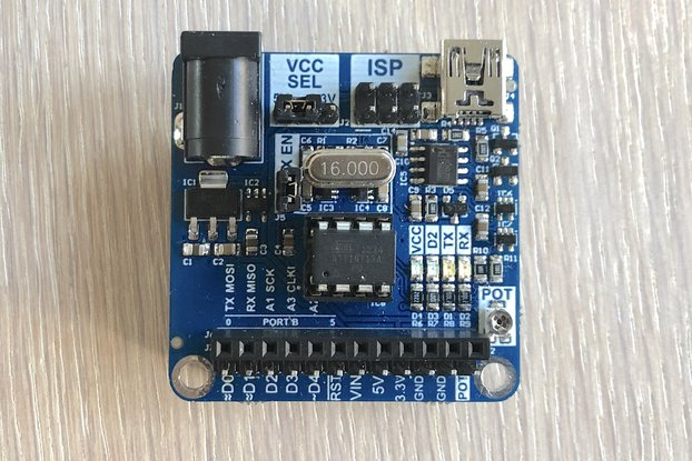 ATtiny Arduino compatible development board