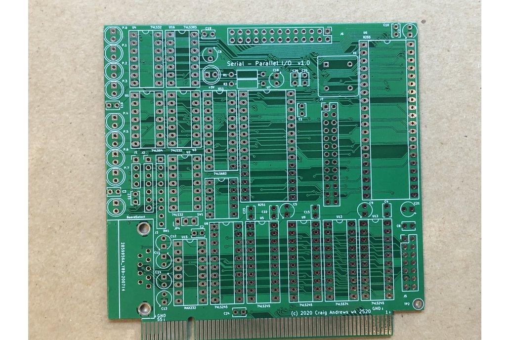 SBC-85 SPIO (Serial-Parallel I/O) 1
