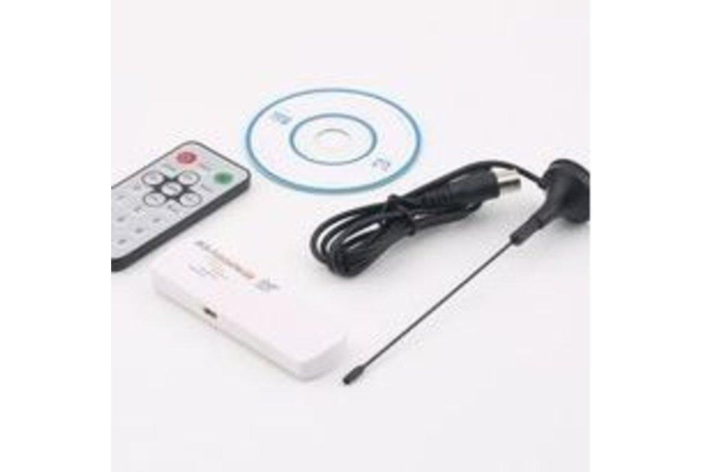 RF Spectrum Analyzer using USB dongle