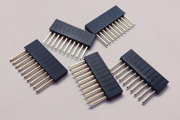 10 pcs x 10 pin female header
