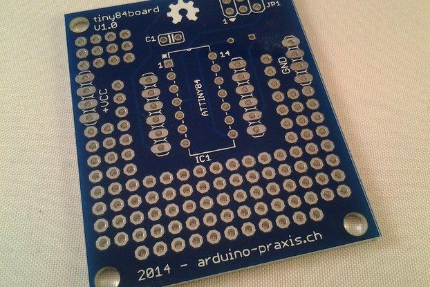 Tiny84Board - PCB