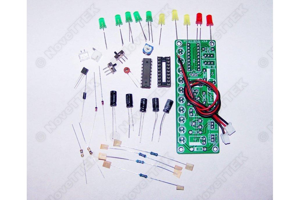 2x Pack LM3915 LED Audio VU Meter DIY KITs v3.0 1