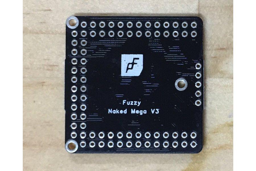 Naked Mega, an Arduino Mega 2560 compatible board