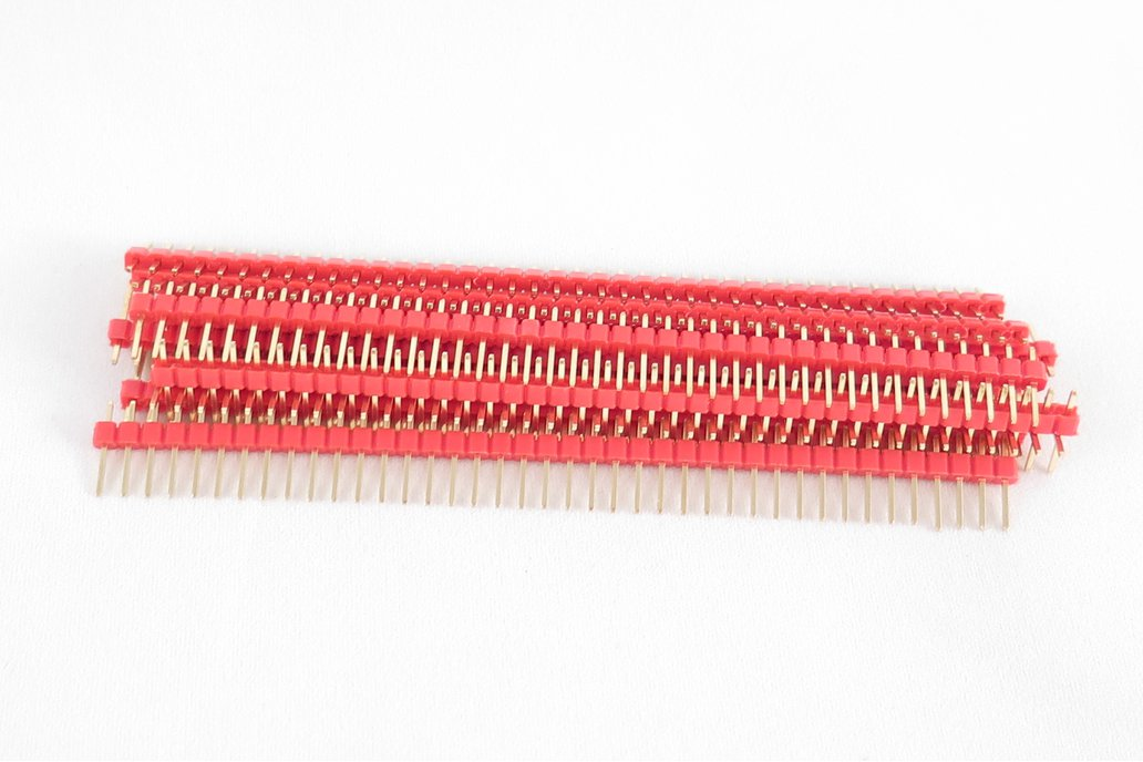 Pack of 10 color 40 pin male header 2