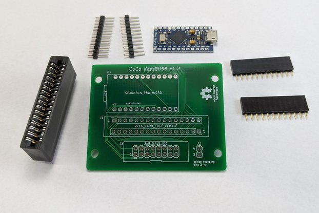 CoCo Keys2USB - Kit