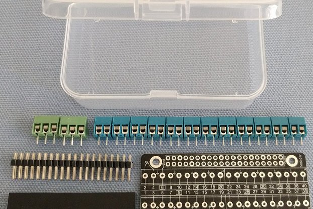 Pi-Zero-EzConnect KIT - Customize a GPIO connector