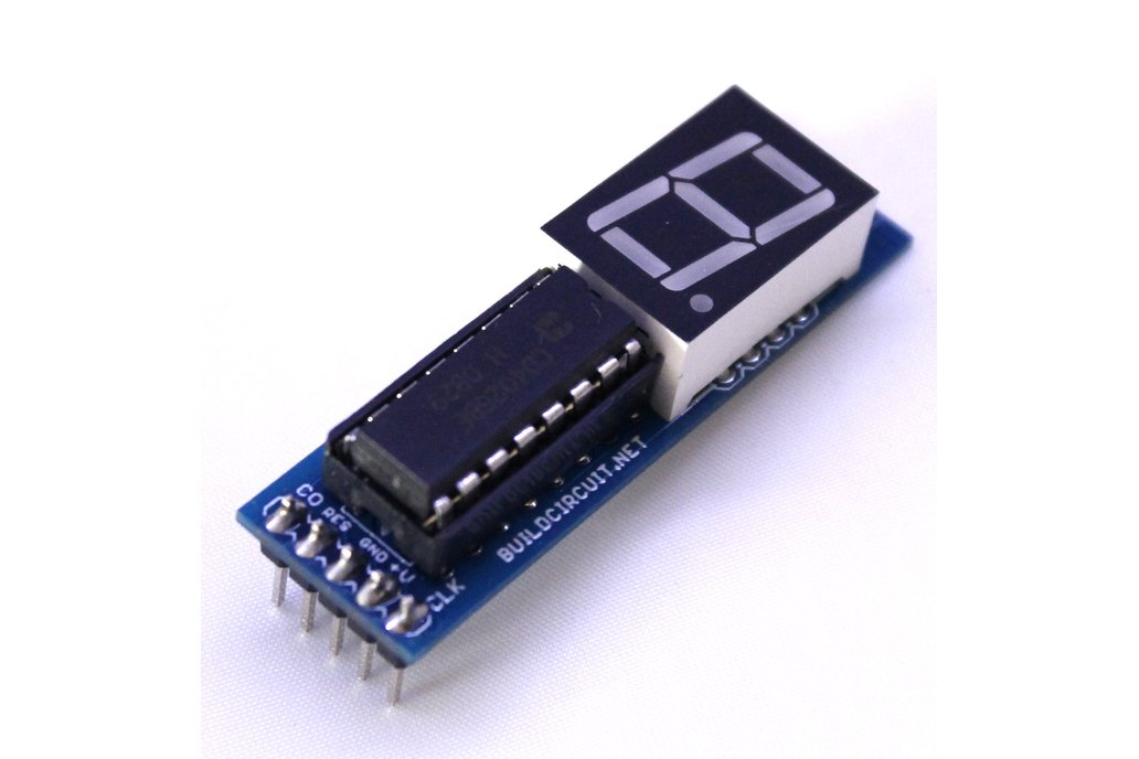 CD4026 up counter for Arduino and NE555 1