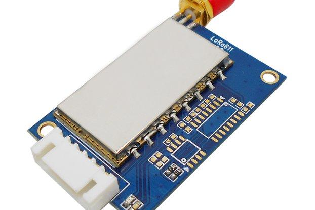 2pcs Lora611 433MHz TTL interface 100mW RF Module